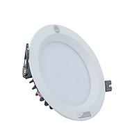 Combo 03 đèn led âm trần 25W khoét lỗ 155mm Rạng Đông, vỏ nhôm mã D AT04L 155/25W , ánh sáng trắng