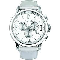 Đồng Hồ Nữ Alfex 5698/848 Chronograph Kính Sapphire Lịch Ngày 45mm