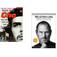 Combo 2 cuốn sách: Huyền Thoại Che - Bản Lĩnh Tính Cách Tình Yêu & Sự Bất Tử + Tiểu Sử Steve Jobs