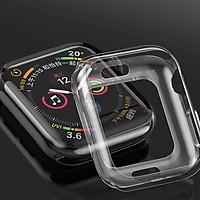 Ốp silicone trong suốt bảo vệ Apple Watch (Size 40/42/44mm) - Hàng Chính Hãng