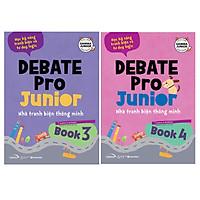 Combo Debate Pro Junior 3 + 4 - Nhà Tranh Biện Thông Minh