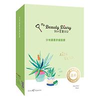 Mặt Nạ Lô Hội Xoa Dịu Giảm Căng Thẳng My Beauty Diary Aloe Vera Soothing Mask (8 Miếng / Hộp)