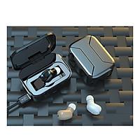 Tai Nghe Bluetooth VINETTEAM 5.0 Mini Y01 TWS  Dung Lượng  Pin Khủng 2000 mAh Sạc Luôn Cho Thiết Bị Di Động, Công Nghệ Lọc Tiếng Ồn 6D - Hàng Nhập Khẩu (màu ngẫu nhiên)