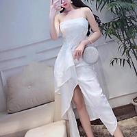 Đầm body dự tiệc TRIPBLE T DRESS -size M/L (kèm ảnh/video thật) MS67Y