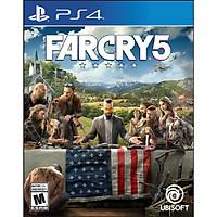 Đĩa Game Ps4: Farcry 5-Hàng Nhập Khẩu