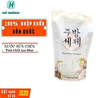 Nước rửa chén hữu cơ chiết xuất gạo Blue 800ml