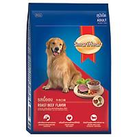 Đồ Ăn Chó Trưởng Thành Hương Vị Thịt Bò Nướng SmartHeart (500g)