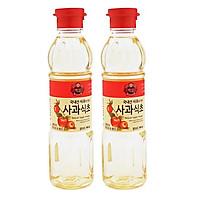 Combo 2 Chai Dấm Táo Hàn Quốc 500ml