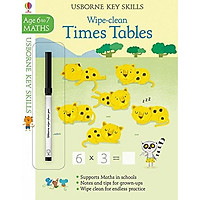 Wipe-clean Times Tables (Maths Age 6-7)