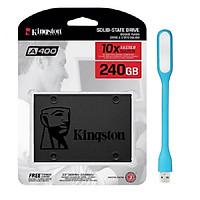 Ổ Cứng SSD Kingston A400 (240GB) - Hàng Chính Hãng + Tặng Đèn Led