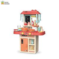Đồ chơi nấu ăn cho bé/ bộ nhà bếp nấu nướng có vòi nước và bảng vẽ Toyshouse  889-169: đồ chơi hướng nghiệp cho bé - tặng đồ chơi dễ thương