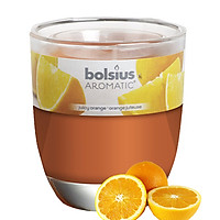 Ly nến thơm tinh dầu Bolsius Juicy Orange 105g QT024343 - hương cam ngọt