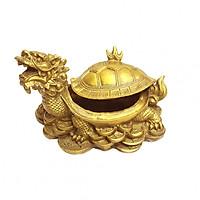 Tượng Tam Nguyên Cập Đệ Long Quy rùa đầu rồng bằng đồng thau Tâm Thành Phát