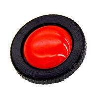 Adaptable Round Quick Release Plate for for for for Manfrotto Compact Action Tripod Red+Black