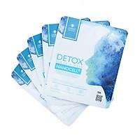 Combo 4 Mặt Nạ Da Sinh Học Tế Bào Gốc COKO Detox Bio Skin Nanocell Mask Lên Men Từ 100% Nước Dừa Tươi Tự Nhiên Giúp Phục Hồi Và Làm Dịu Da Bị Tổn Thương Cho Làn Da Sáng Mịn, Đàn Hồi Dẻo Dai – Hàng Chính Hãng