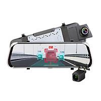 Camera hành trình gương phát wifi trên xe nhờ tích hợp 4G LTE, định vị GPS + BD cao cấp E08-E - Hàng nhập khẩu