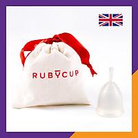 Cốc nguyệt san Ruby cup – Vật liệu sillicon y tế cao cấp, màu Trong suốt – Hàng chính hãng, Thương hiệu được yêu thích tại Anh và 36 quốc gia trên thế giới - Ruby Cup Clear