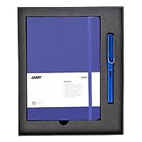 Gift Set Lamy Notebook A5 Softcover Blue + Lamy Safari Blue - GSNSa009