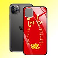 Ốp Lưng Họa Tiết Màu Vàng Ánh Kim cho điện thoại Iphone 11 Pro Max - 0379 7997 TAILOC05 - Tài Lộc - Hàng Chính Hãng