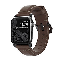 Dây Apple Watch NOMAD Traditional Strap Leather 44mm/42mm - Hàng Nhập Khẩu