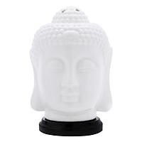 Combo Đèn Gốm Xông Tinh Dầu Lorganic Phật Thủ DX0428 + Tinh Dầu Sả Chanh LGN0267 (10ml)