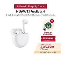 Tai Nghe Bluetooth HUAWEI FreeBuds 4   Chống Ồn Chủ Động Thiết Kế Mở 2.0   Thiết Kế Gọn Nhẹ   Âm Thanh Độ Phân Giải Cao   Hàng Chính Hãng