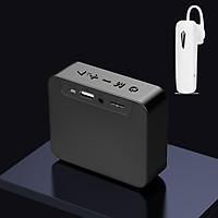 Combo Loa Bluetooth Không Dây G03, Âm Thanh Sống Động, Thiết Kế Nhỏ Gọn Dễ Dàng Mang Theo + Tặng Tai Nghe Bluetooth Nhét Tai Cao Cấp