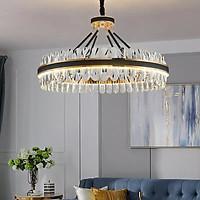 Đèn chùm pha lê cao cấp thiết kế sang trọng trang trí phòng khách, bàn ăn, nhà hàng, khách sạn TH-8139-40