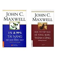 Combo sách tư duy để thành công :1% & 99% – Tài Năng & Mồ Hôi Nước Mắt +Học Từ Vấp Ngã Để Từng Bước Thành Công( Tặng Bookmark Green Life )