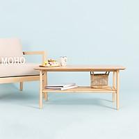 Bàn Sofa - Cafe - Trà Gỗ Sồi MOHO OSLO 901 Màu Gỗ Tự Nhiên Hình Chữ Nhật