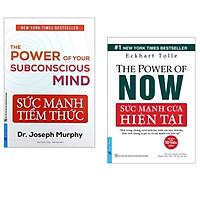 Combo 2 cuốn sách cực hay về kinh tế : Sức Mạnh Tiềm Thức 2021 + Sức Mạnh Của Hiện Tại  (Tặng Kèm Bookmark Happy Life)