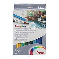 Bút Vẽ Màu Nước-36 Màu Pentel - CB9_36U