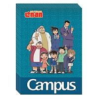Lốc 5 Cuốn Vở A4 Kẻ Ngang Có Chấm Campus Conan Group NB-A4CN200- ĐL 70 (200 Trang) - Mẫu Ngẫu Nhiên