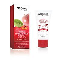 Kem Dưỡng Da Tay Và Móng Hương Táo Nagano Japan 60ml - Apple Hand & Nail Cream - Dưỡng da tay trắng min, giúp móng chắc khỏe