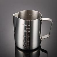 Ca Đánh Sữa Inox 550ML (Có Chia Vạch)