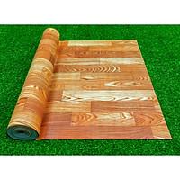 Thảm trải sàn vân gỗ cẩm lai, bề mặt vân gỗ nổi bật