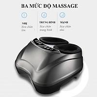 Máy massage Chân Túi Khí Hồng Ngoại Xoa Bóp, Bấm Huyệt 4D Cao Cấp