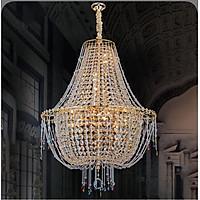 Đèn chùm pha lê cao cấp thiết kế sang trọng trang trí phòng khách, nhà hàng, khách sạn, quán cafe CFL 99182