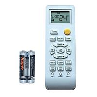 Remote Thay Thế Điều Khiển Cho Máy Lạnh, Máy Điều Hòa SANYO/AQUA (Kèm Pin AAA Maxell)