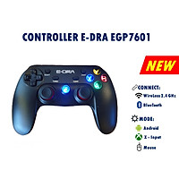 Tay cầm chơi game E-Dra EGP7601 - Hàng chính hãng