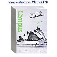 Lốc 5 quyển vở kẻ ngang Landscape 80 trang B5 Campus NB-BLAS80 Úc