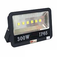 Đèn pha LED ngoài trời 300W tròn chóa rộng - IP65