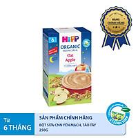 Bột ăn dặm dinh dưỡng Sữa, Chúc ngủ ngon Yến mạch, Táo tây HiPP Organic 250g