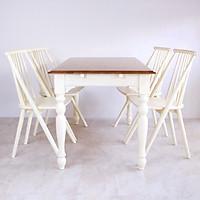 Bộ bàn ăn 4 ghế gỗ