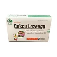 Thực Phẩm Bảo Vệ Sức Khỏe - Viên ngậm cảm cúm Cukcu Lozenge