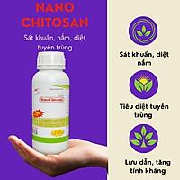 [Có sẵn] Kháng khuẩn, nấm, diệt tuyến trùng, tăng tính kháng – Nano Chitosan 500ml