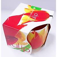 Ly nến thơm tinh dầu Admit Tulips 100g QT026991 - hương hoa tulips