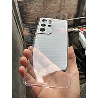 Ốp lưng silicon Gor cho Samsung Galaxy S21 Ultra, S21 Plus, S21 / 5G siêu mỏng, có gờ bảo vệ camera hàng nhập khẩu