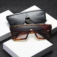 Universal Women Fashion Large Square Frame Sunglasses UV400 Sunglasses
