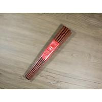 Bộ 10 đôi đũa ăn cao cấp đũa đẹp đũa sạch - Gỗ Cẩm